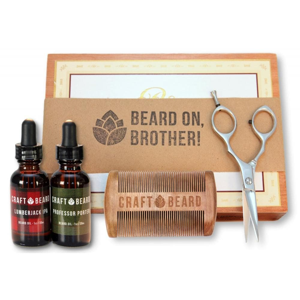 mens beard mustache grooming kit photo - 1