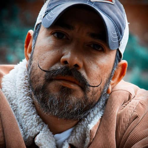 mexican with beard photo - 1