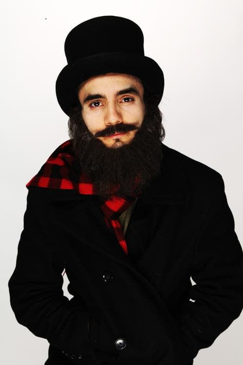 mustache and beard color photo - 1