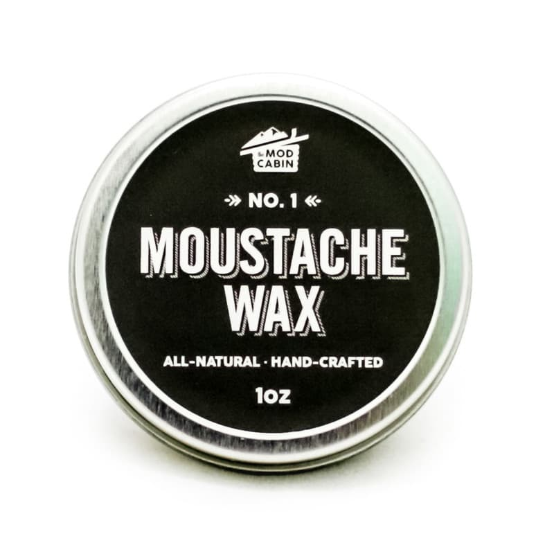 mustache wax on beard photo - 1