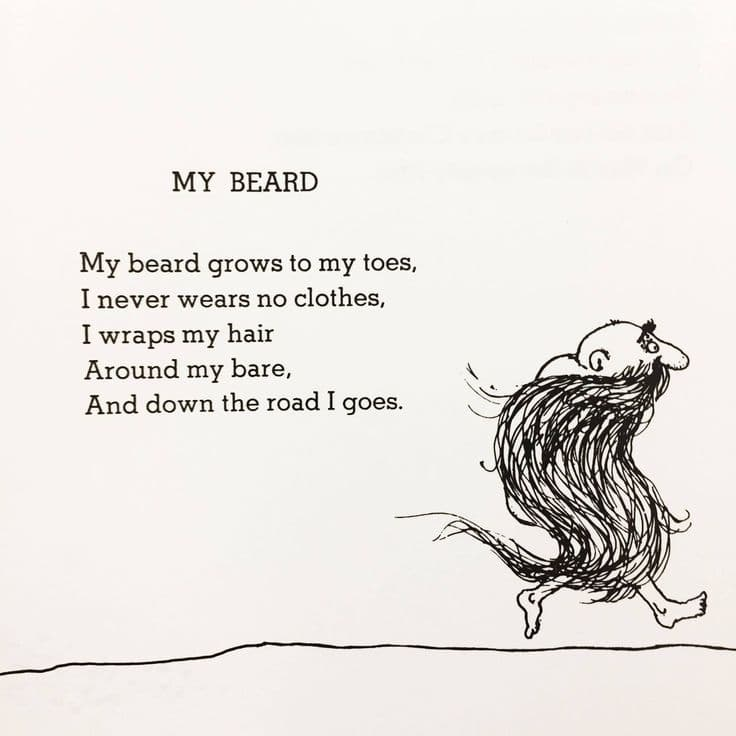 my beard shel silverstein photo - 1