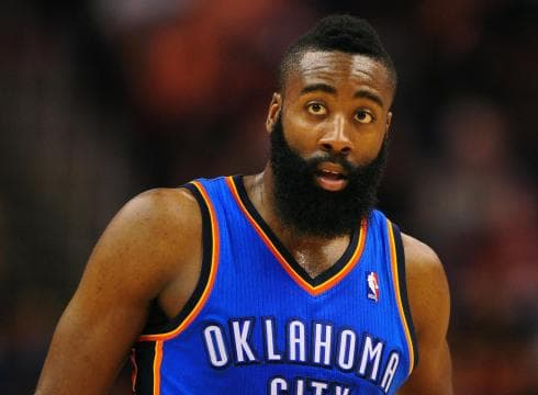 nba player with beard photo - 1