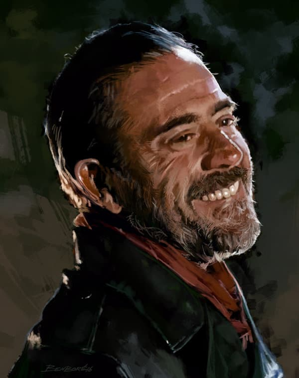 negan beard photo - 1