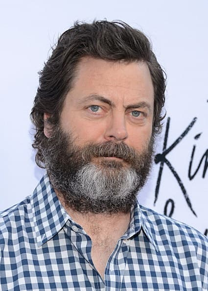 nick offerman no beard photo - 1