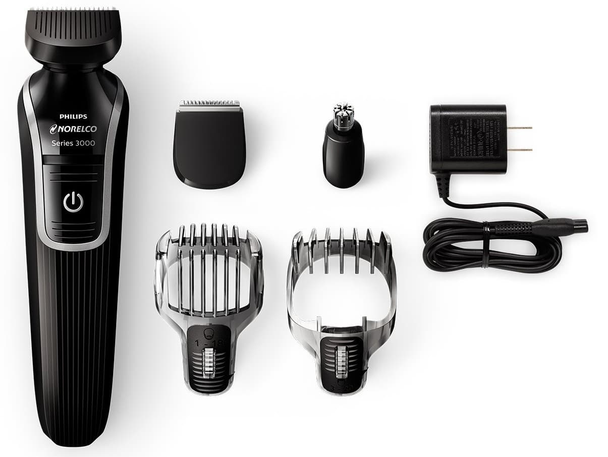 norelco beard mustache trimmer photo - 1