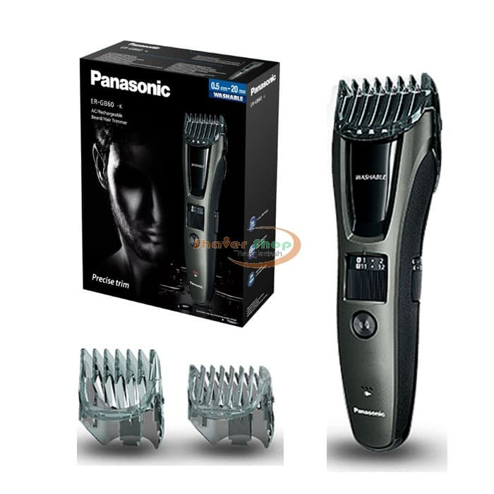 panasonic beard and mustache trimmer photo - 1