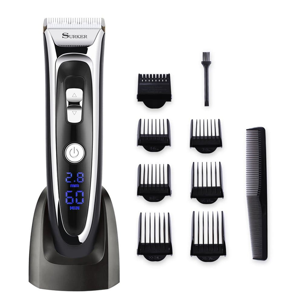 rechargeable beard trimmer photo - 1
