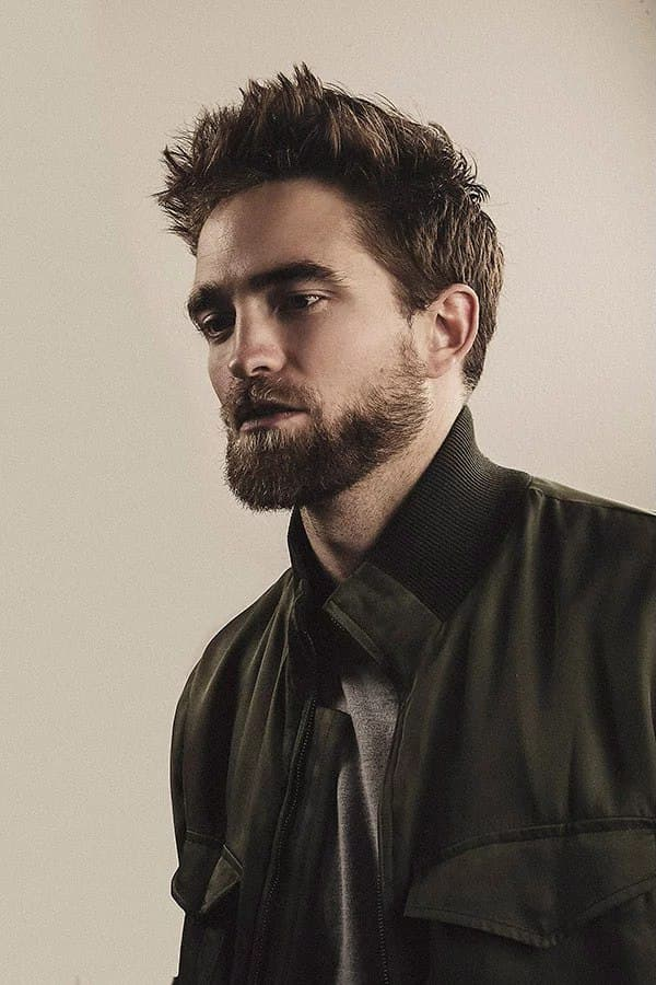 robert pattinson beard photo - 1