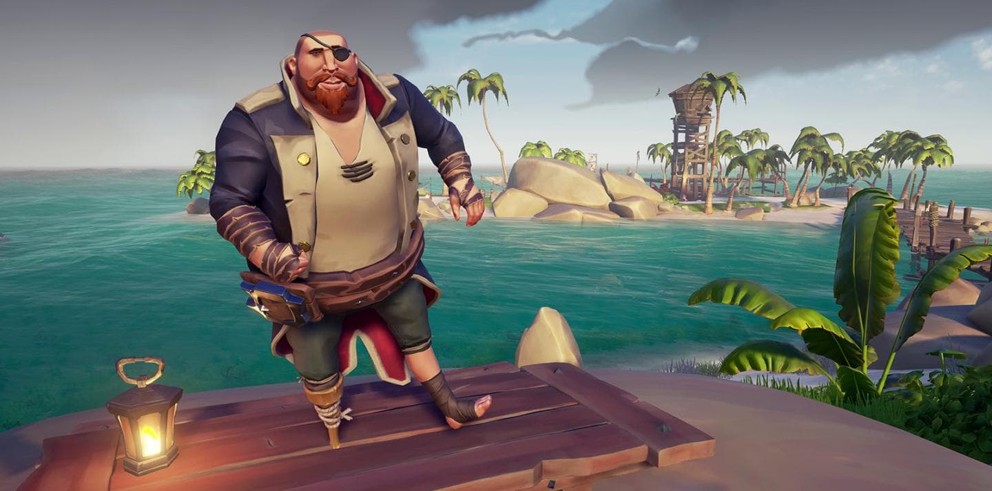 sea of thieves cinnamon beard fix photo - 1