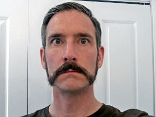 separate mustache from beard photo - 1