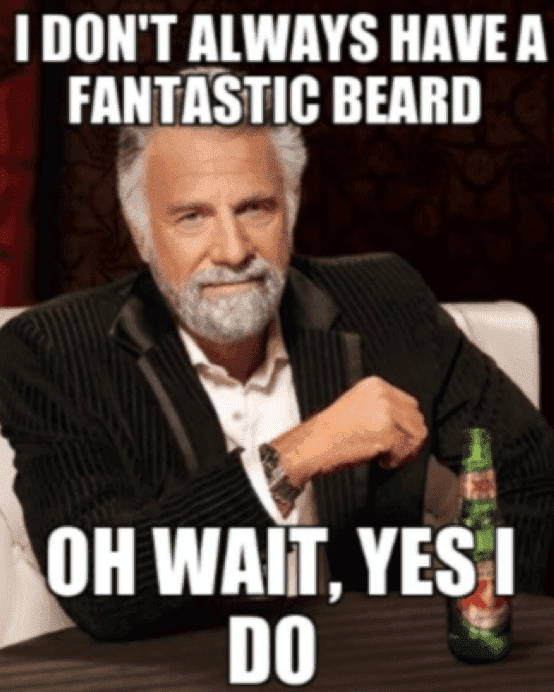 shave beard meme photo - 1