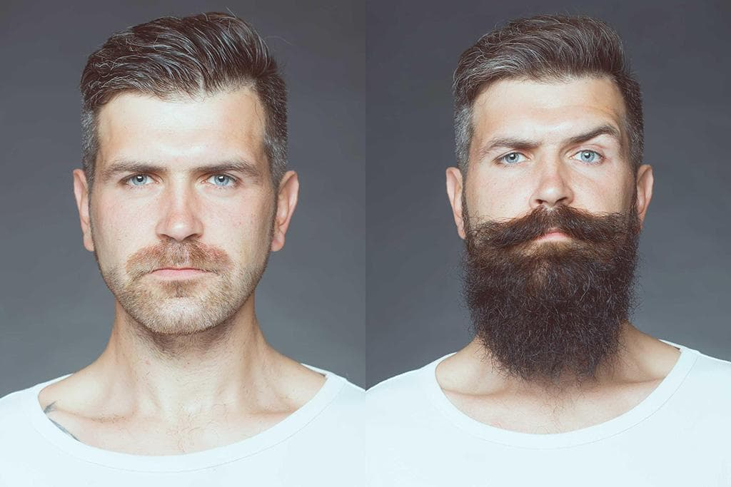stages of beard growth pictures photo - 1