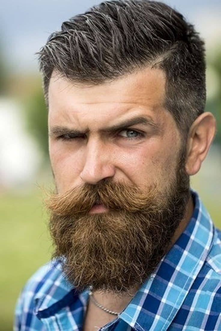 style mustache beard photo - 1