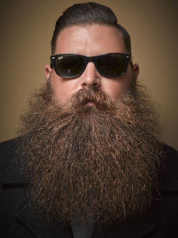 thick mustache and beard photo - 1