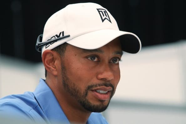 tiger woods beard photo - 1