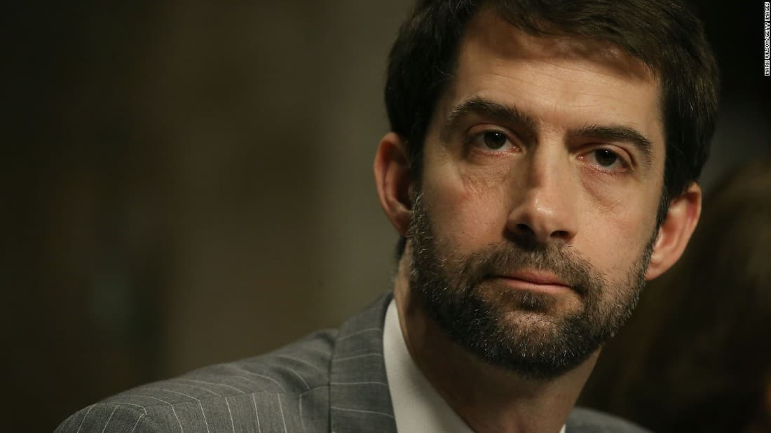 tom cotton beard photo - 1