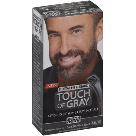 touch of gray mustache and beard photo - 1