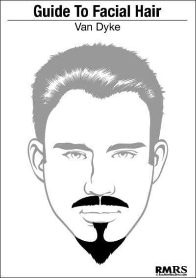 van dyke facial hair styles photo - 1