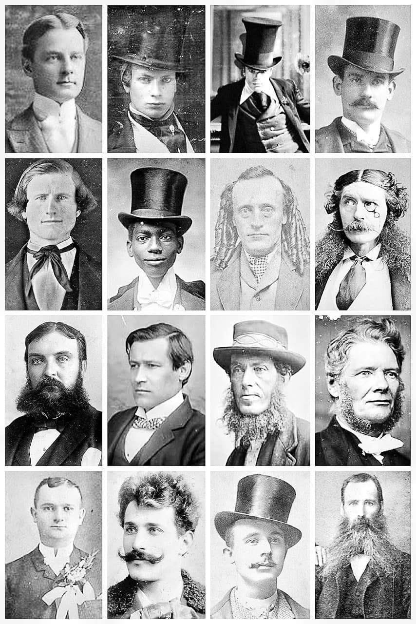 victorian facial hair styles photo - 1