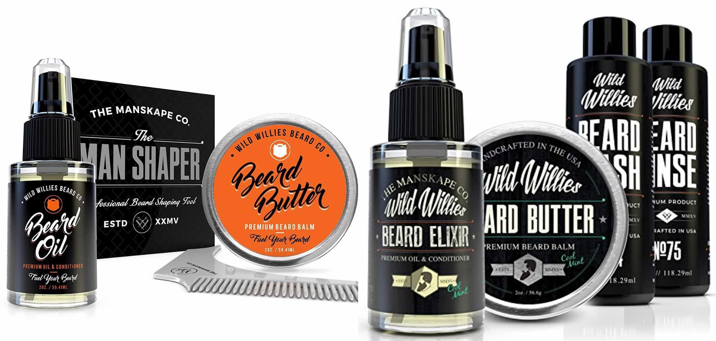 wild willies beard oil photo - 1