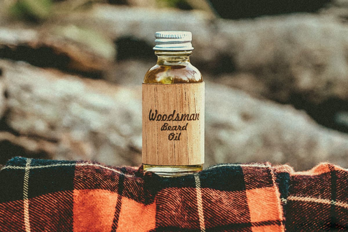 woodsman beard oil photo - 1