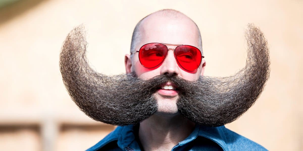 world mustache beard association photo - 1