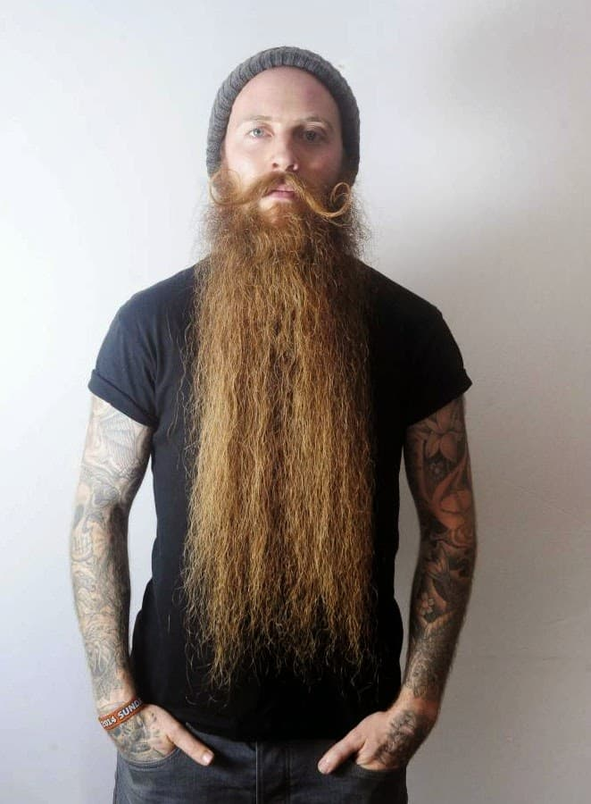 worlds longest beard photo - 1