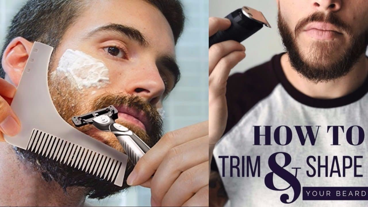 beard trimming techniques 1
