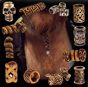 celtic beard beads 1