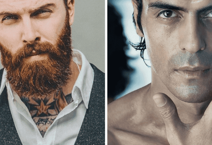 clean shaven vs beard attractiveness 1