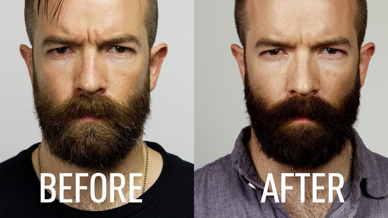 color your beard 1