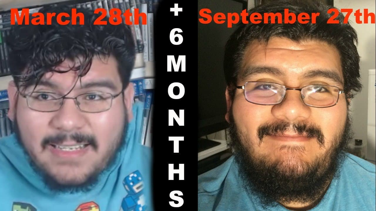 dollar beard club before and after 1