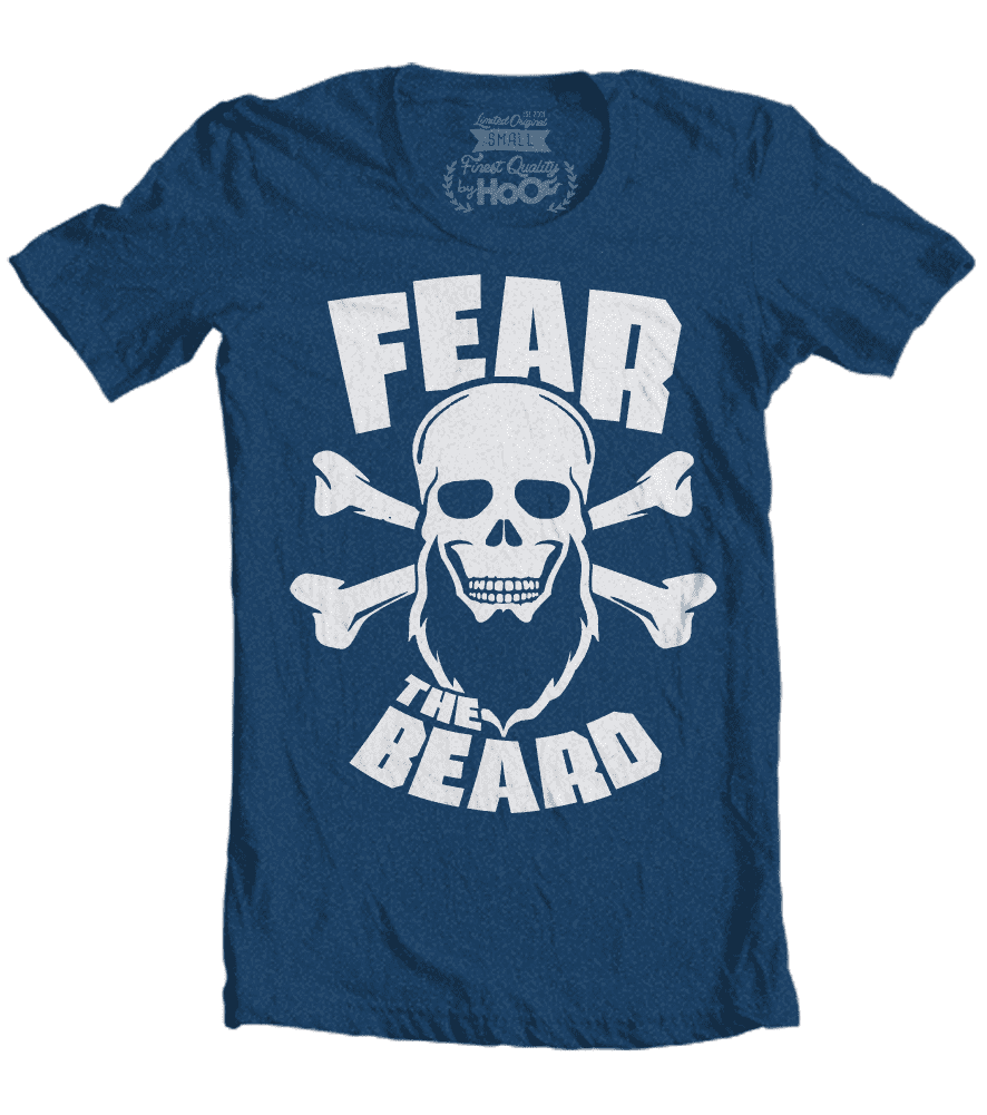 fear the beard tshirt 1