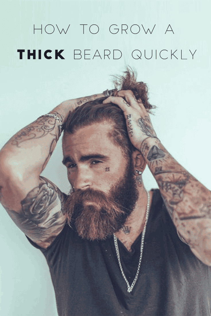 how to get a thick beard 1