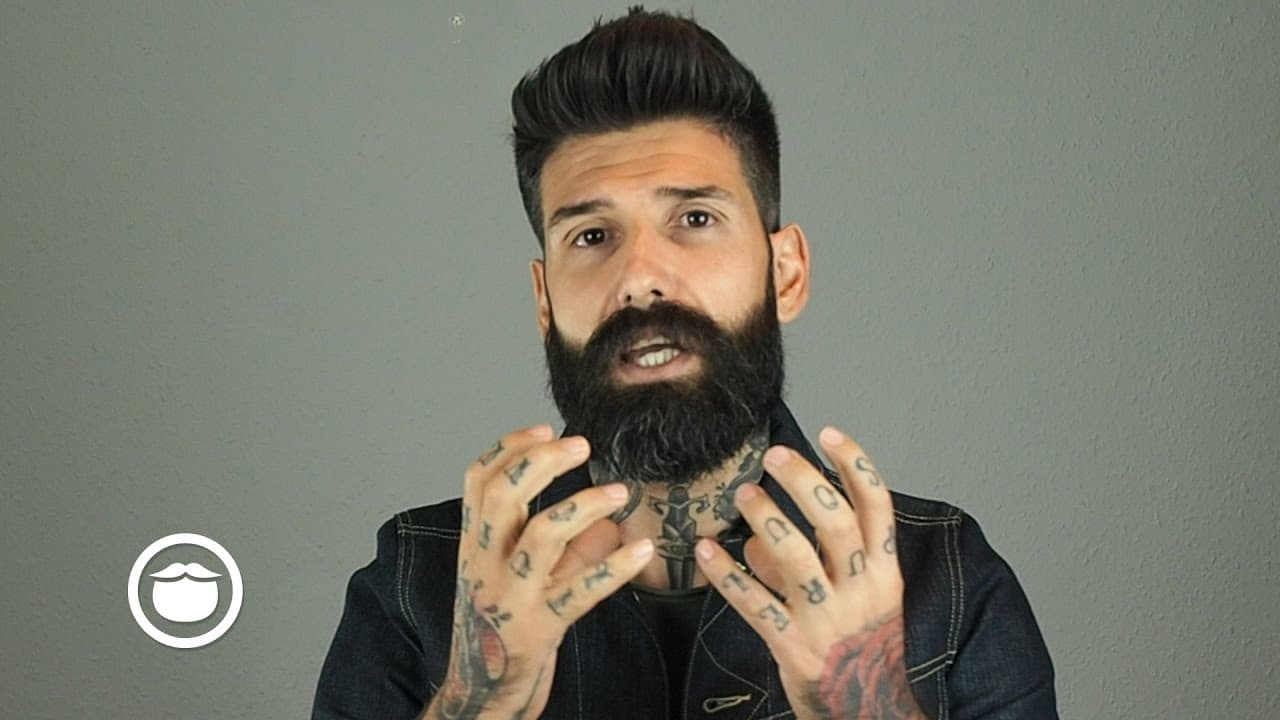 how to make your beard straight 1