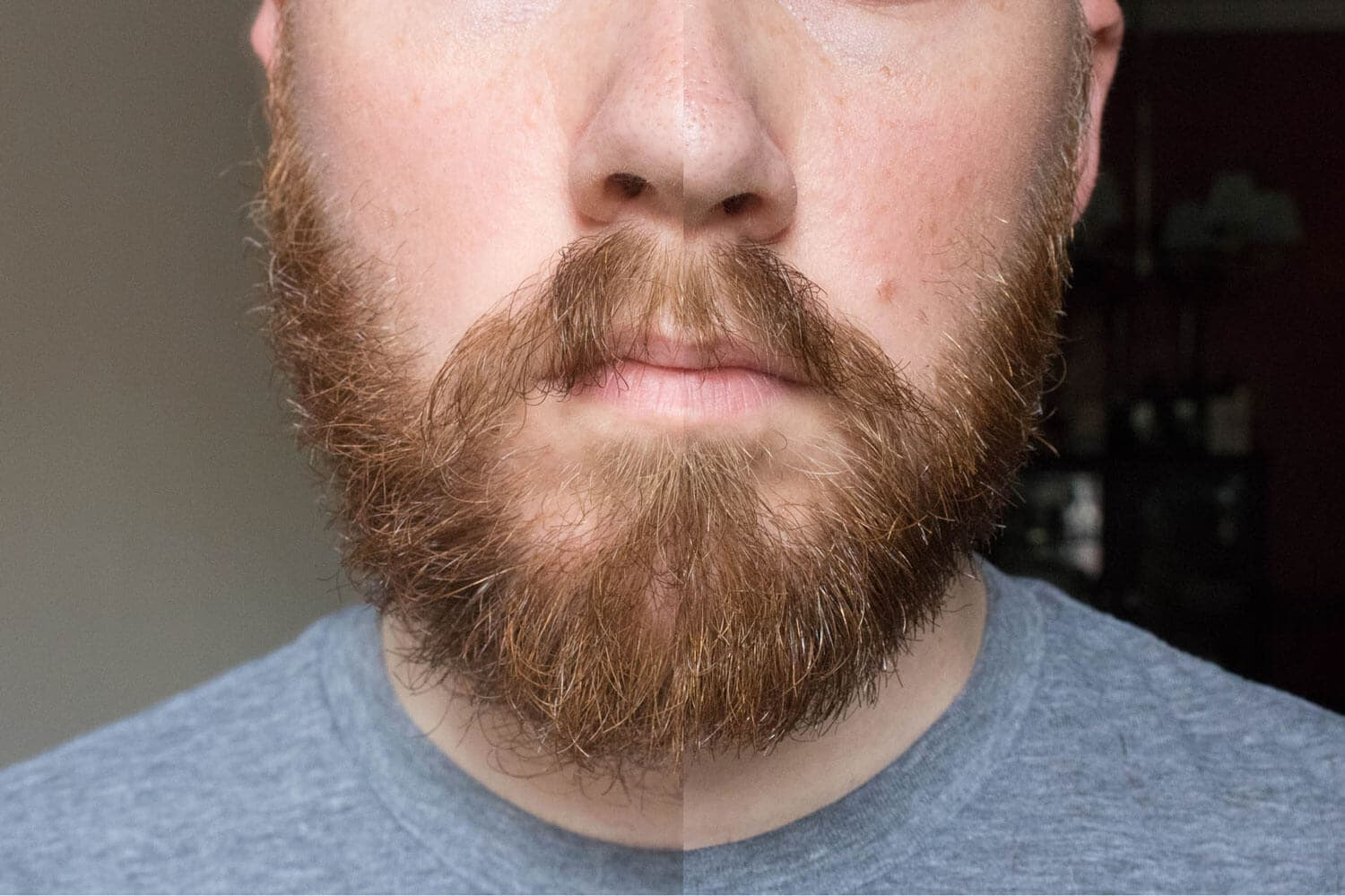 how to trim a mustache with a beard 1