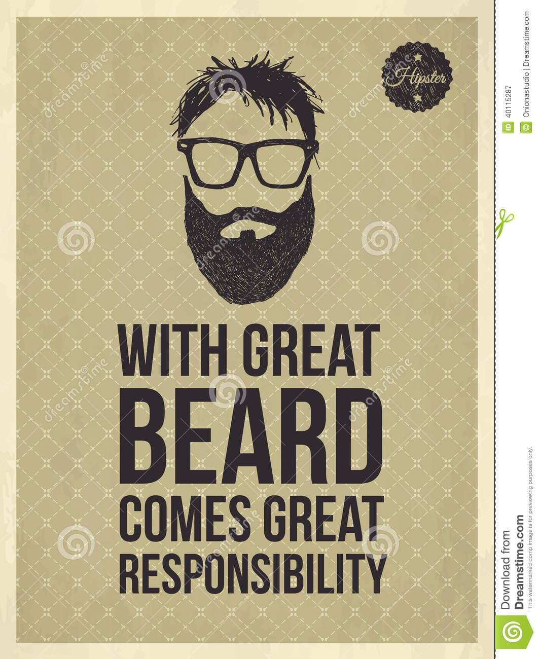 with great beard comes great responsibility 1