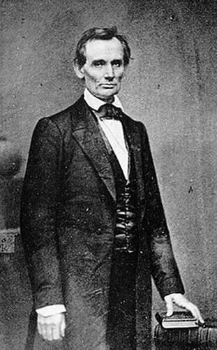 abraham lincoln without beard 1