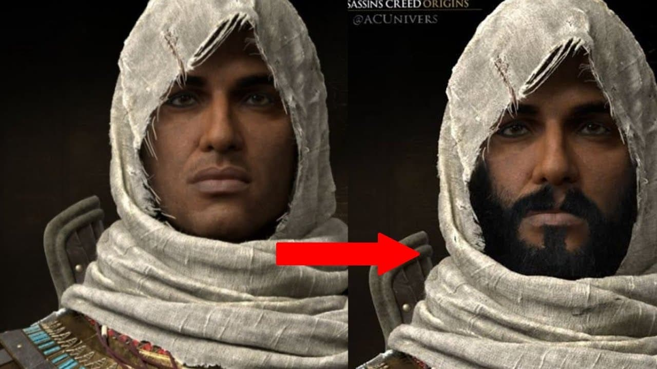 assassins creed origins beard 1