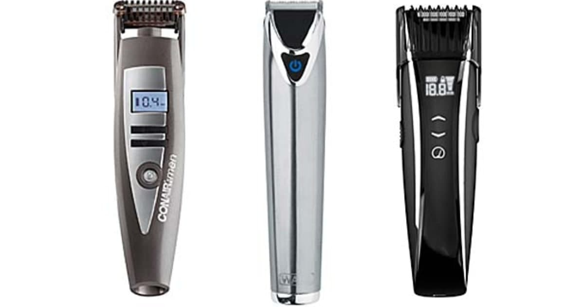 best beard and mustache trimmers 1