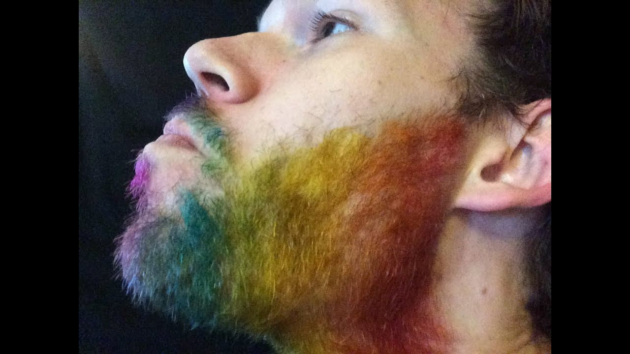can i use hair dye on my beard 1