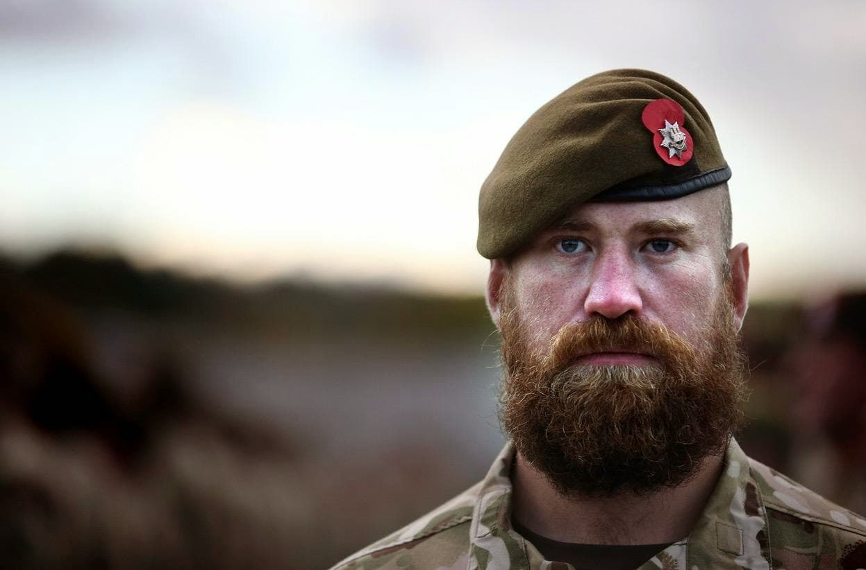 can you have a beard in the army 1