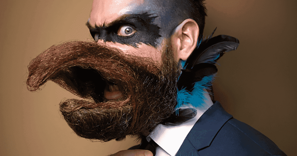 cool beard and mustache styles 1