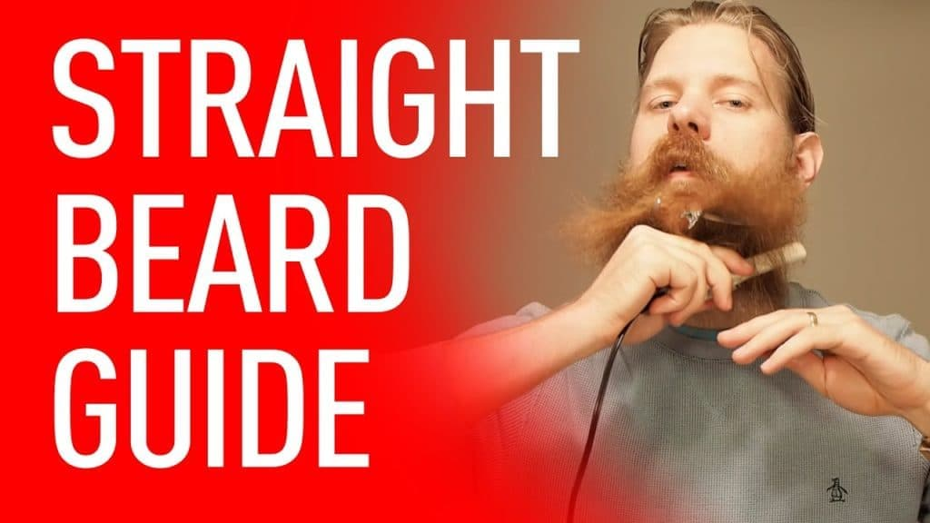 how to get beard to lay flat 1