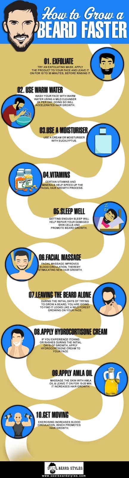 how to grow your beard faster 1