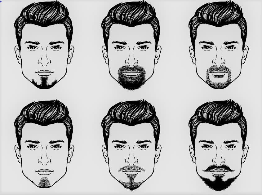 mens facial hair styles for round faces 1