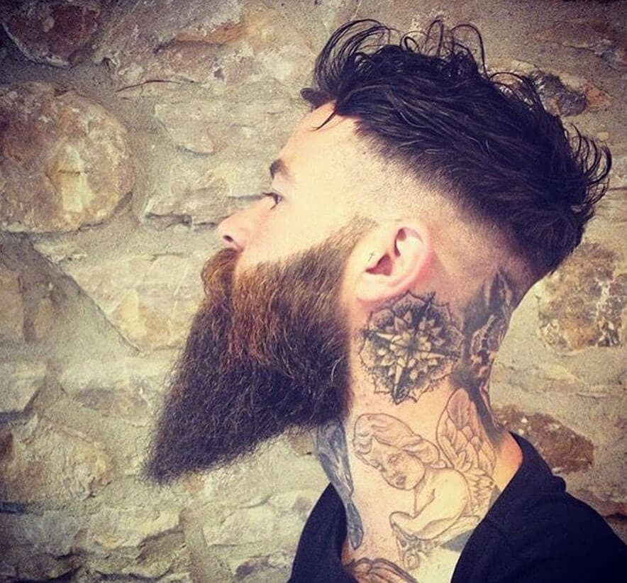 mens hairstyle and beard 1