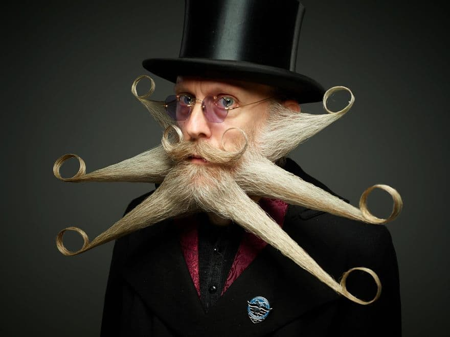 mustache and beard contest 1
