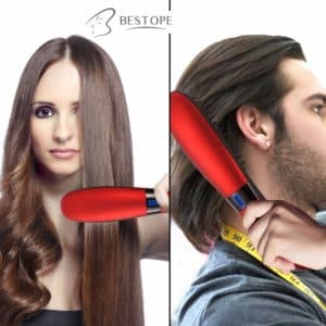straighten beard hair 1