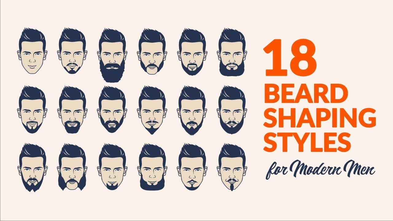 trimming facial hair styles 1